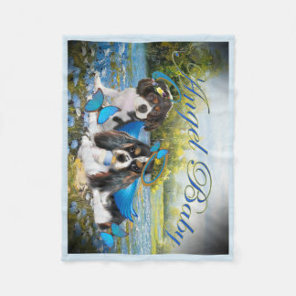 Couverture Polaire Le Roi cavalier Charles Baby Angel Blanket