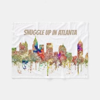 Couverture Polaire L'horizon d'Atlanta la Géorgie SG-S'est fané