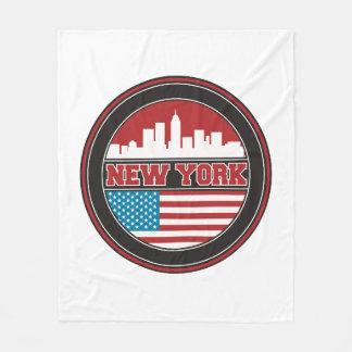 Couverture Polaire L'horizon | Etats-Unis de New York diminuent