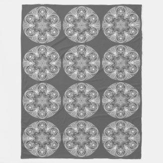 Couverture Polaire Mandala de lamantin