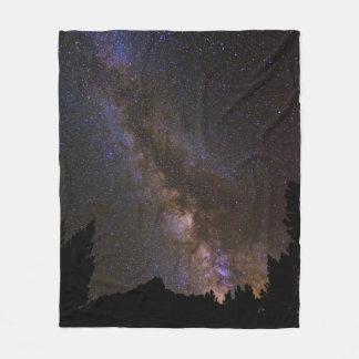 Couverture Polaire Manière laiteuse étoilée, la Californie