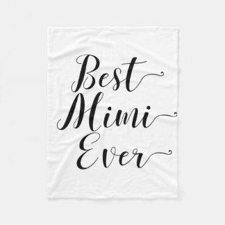 Couverture Polaire Meilleur Mimi jamais
