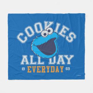 Couverture Polaire Monstre de biscuit quotidien