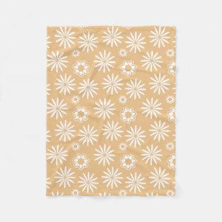Couverture Polaire Motif assez floral