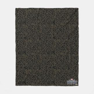 Couverture Polaire Motif de panthère de la panthère noire | Erik