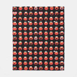 Couverture Polaire Motif d'Elmo Emoji