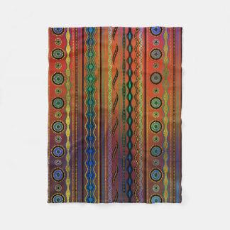 Couverture Polaire Motif tribal translucide de Beautuful
