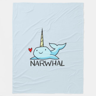 Couverture Polaire Narwhal