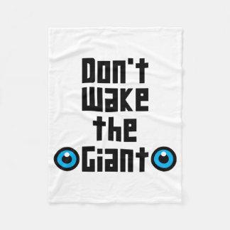 Couverture Polaire Ne réveillez pas le géant