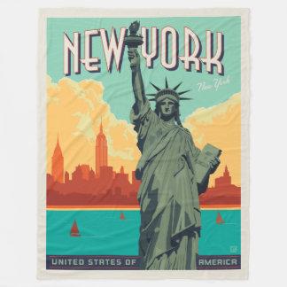 Couverture Polaire NYC - Madame Liberty