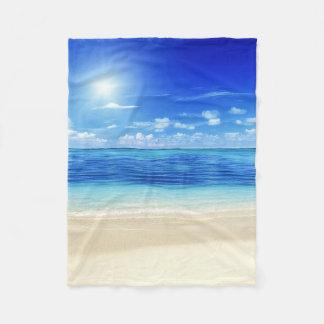 Couverture Polaire Ouatine des Caraïbes de Dreamz d'été