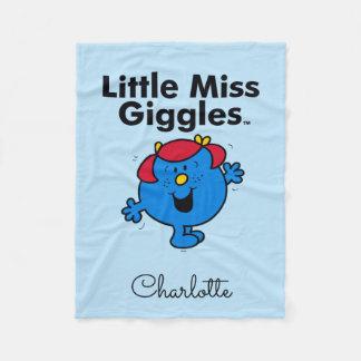 Couverture Polaire Petite petite Mlle Giggles Likes To Laugh de la