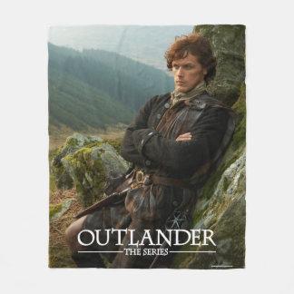 Couverture Polaire Photographie étendue de l'Outlander | Jamie Fraser