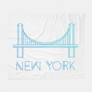 Couverture Polaire Pont de Brooklyn | New York City
