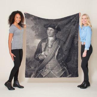 Couverture Polaire Portrait vintage de George Washington