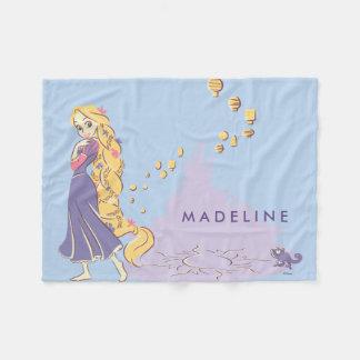 Couverture Polaire Rapunzel et Pascal dans le pourpre