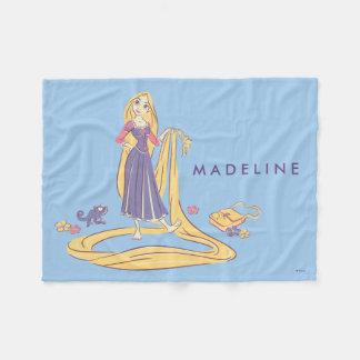 Couverture Polaire Rapunzel et pastels de pourpre de Pascal