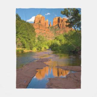 Couverture Polaire Rivière au croisement rouge de roche, Arizona