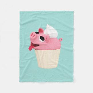 Couverture Polaire Rosa est a cupcake