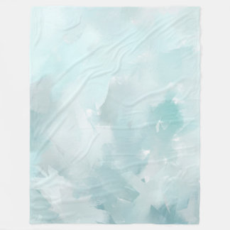 Couverture Polaire Sarcelles d'hiver en pastel