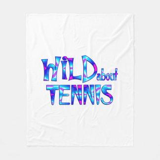 Couverture Polaire Sauvage au sujet du tennis