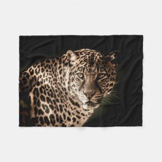 Couverture Polaire Se tenir le premier rôle repéré en léopard