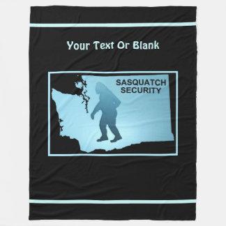 Couverture Polaire Sécurité de Sasquatch - Washington