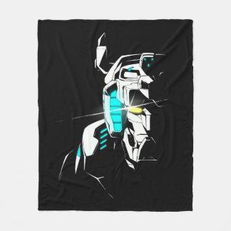 Couverture Polaire Silhouette brillante d'oeil de Voltron |