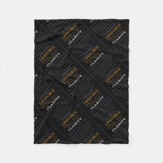 Couverture Polaire Tapis de méditation de LifeForce : CLARTÉ