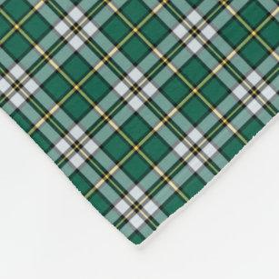Couverture Polaire Tartan de la Nouvelle-Écosse de Breton de cap