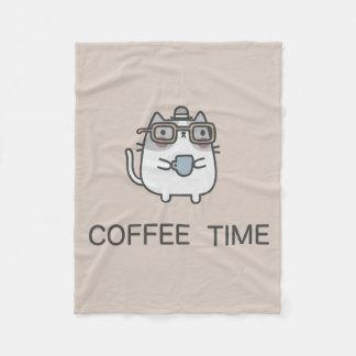 Couverture Polaire Temps de café