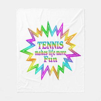 Couverture Polaire Tennis plus d'amusement