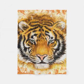 Couverture Polaire Tigre