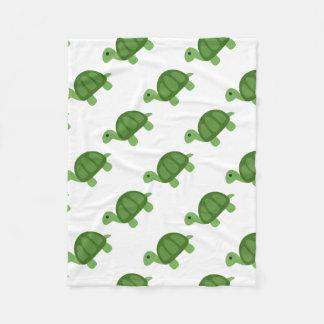 Couverture Polaire Turtle Emoji