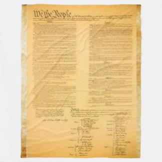 COUVERTURE POLAIRE U.S. CONSTITUTION