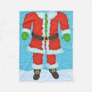 Couverture Polaire Vacances drôles de Noël de nouveauté de corps du