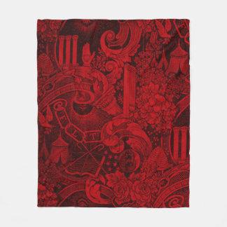 Couverture Polaire Version 2 tissée de tapisserie de camarades