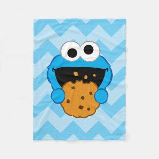 Couverture Polaire Visage de biscuit