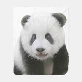 Couverture Polaire Visage de panda