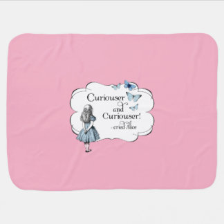 Couverture Pour Bébé Alice dans une couverture rose plus curieuse de