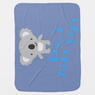 Couverture Pour Bébé Amours de koala de bébé au petit somme