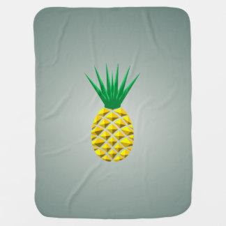 Couverture Pour Bébé Ananas géométrique moderne