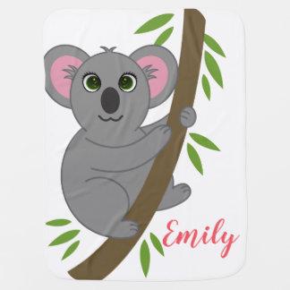 Couverture Pour Bébé Animal accrochant personnalisé d'ours de koala de
