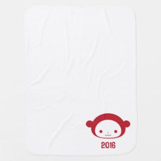 Couverture Pour Bébé Année de la couverture 2016 de bébé de singe