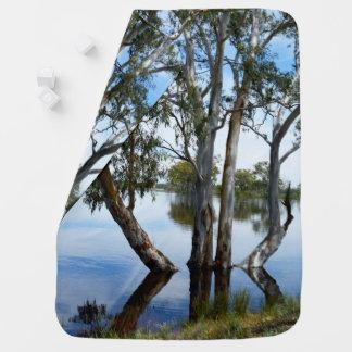 Couverture Pour Bébé Beauté d'un arbre de gomme, Riverland Australie,