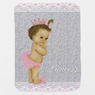 Couverture Pour Bébé Bébé rose et gris doux