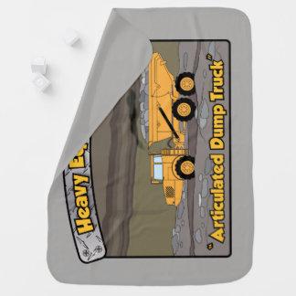 Couverture Pour Bébé Camion à benne basculante articulé par équipement