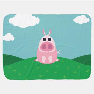 Couverture Pour Bébé Circonspect le porc