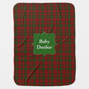 Couverture Pour Bébé Clan Dunbar Tartan Plaid Baby Blanket