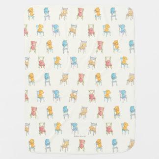 Couverture Pour Bébé Concerne le motif de chaises